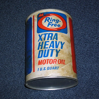 Macmillan Ring-Free Oil Can (Full) - Petroliana