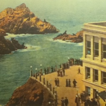 Cliff House Advertisement Card - Advertising
