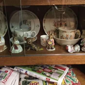 My nana's royal Dolton collection  - Figurines