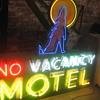 Vintage 1970's ( NO ) VACANCY MOTEL Large Antique Multi-colored Neon Sign