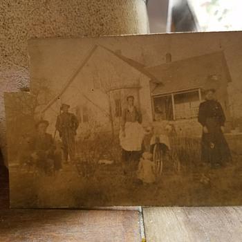 antique photo postcard - Postcards