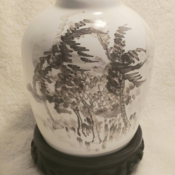 My newest vase mystery - Asian