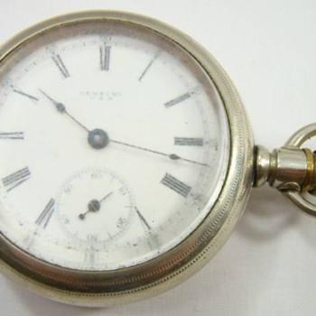 seth thomas century 18 size pocket watch