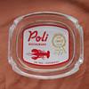 Poli' Restaurant Ashtray, Pittsburgh, PA