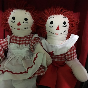 Raggedy Ann and Andy's  - Dolls
