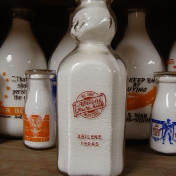 ABILENE PURE MILK COMPANY BABY TOP .... ABILINE TEXAS - Bottles