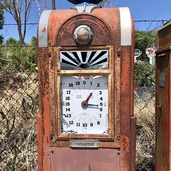 Wayne Gas Pumps - Petroliana