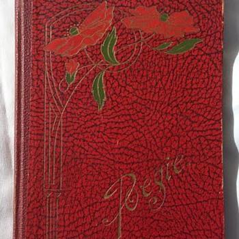 Art Nouveau poetry book  - Art Nouveau