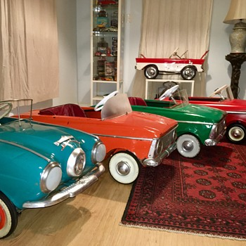 Moskvich Pedal car collection - Model Cars