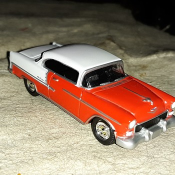 Greenlight Collectibles 1955 Chevrolet Bel Air From 2012 - Model Cars