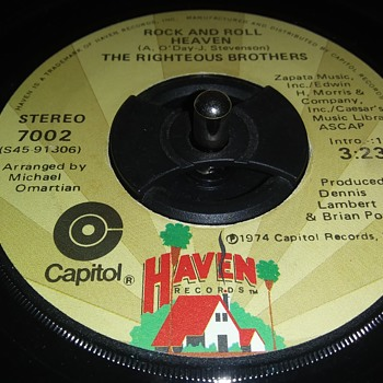 45 RPM SINGLE....#125 - Music Memorabilia