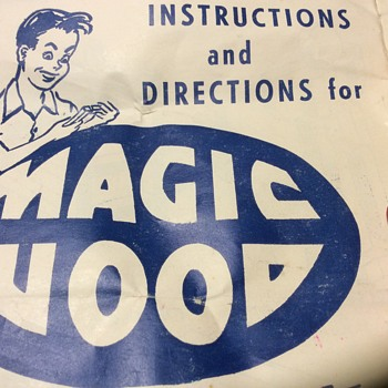 I wonder if magic wood ,was made from magic trees  - Toys