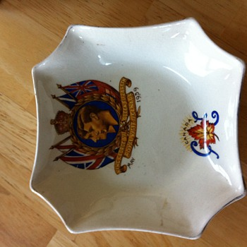 Royal Visit to Canada dish 1939? - Pottery
