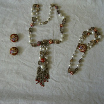 Hobe jewelry set vintage - Costume Jewelry