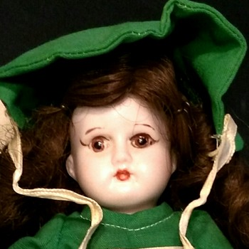 "8"" all bisque doll"