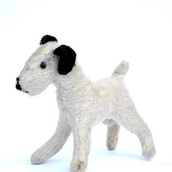chien en peluche années 1930 - Toys