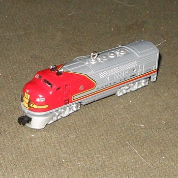 Hallmark F3A Diesel Locomotive Tree Ornament