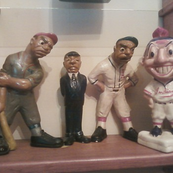 L.L. Rittgers 1941 Baseball Figure Set - Baseball