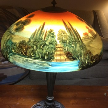 Reverse painted lamps - Lamps