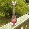 Fenton Vase, Pink