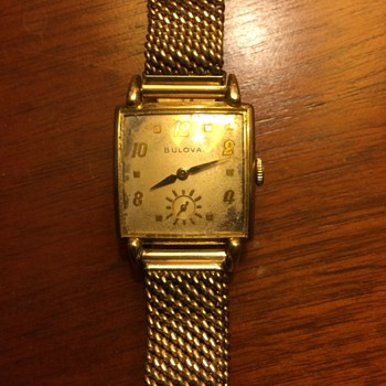 1952 Bulova Franklin - Wristwatches
