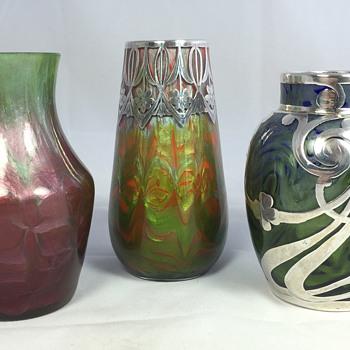 "Loetz ""Titania Gre. 2534"" Collection. Circa 1905-1906 - Art Glass"