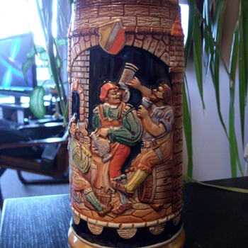 Vintage West Germany Beer Stein - Breweriana
