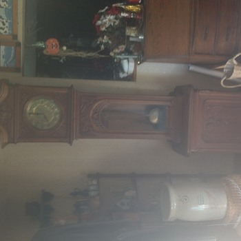 Grandfather clock in family three generations