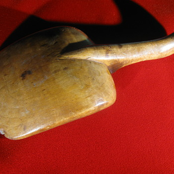 18th Century  .  .  .  Hand-Made Maple Scoop - Tools and Hardware