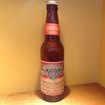 Vintage Budweiser bottle  - Bottles