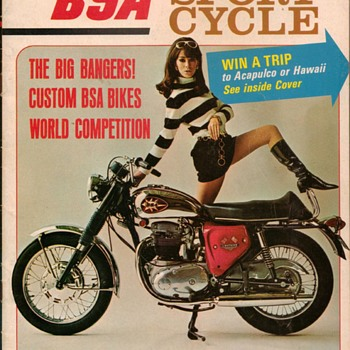 1968 - Sport Cycle Magazine - BSA Issue - Paper
