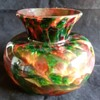 Unusual spatter bowl/vase