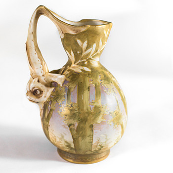 Unusual & Rare RStK Vase that Grows over time  - Pottery