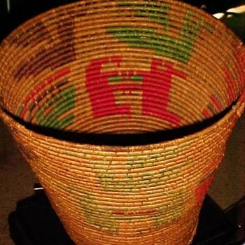 American Indian Large Basket
