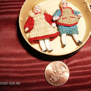 Petite Dolls & Scissors: Have A Good Time But Don't Be Too Much Of A Cut Up