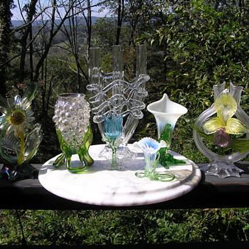 Kralik Art glass Vases