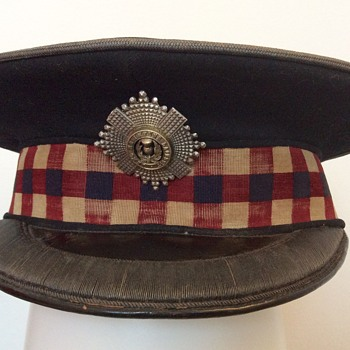 Early Scots Guards Officer's Forage cap. - Military and Wartime