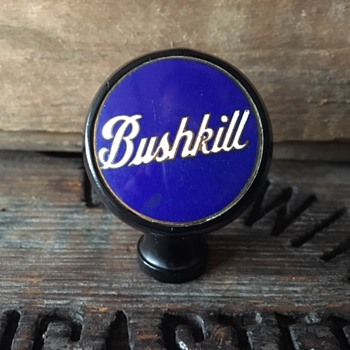 Bushkill Beer Ball Tap Knob - Breweriana