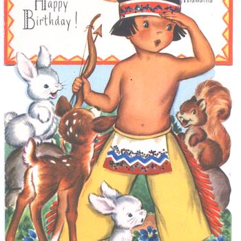 Hiawatha | Fairfield Birthday Story Card