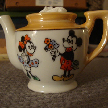"""Antique Child's Tea Set """"Made in Occupied Japan"""" W.D.P. - China and Dinnerware"""