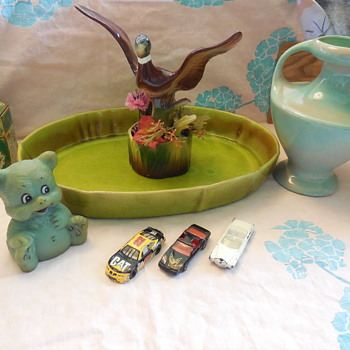 Royal China California Pottery Mallard Planter for Thomas(Brunswick) :^) - Pottery
