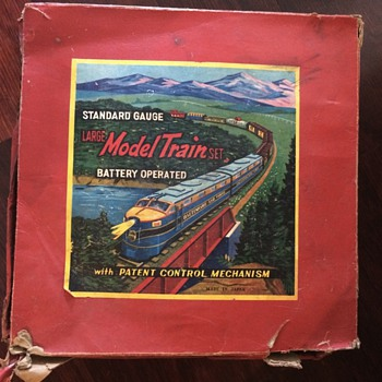 Can anyone tell me the history of this standard gauge train set?