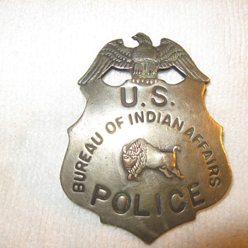 Bureau of Indian Affairs... - Medals Pins and Badges