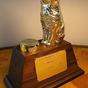 Morris the cat - Trophy - Animals