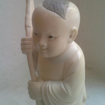 chinese ivory carving - Asian