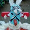 """Kwahu, The """"Eagle Dancer"""" Kachina Doll"""