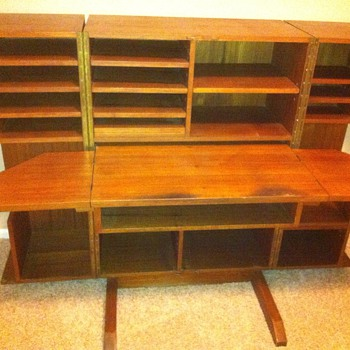Chinese Teakwood Desk - Furniture