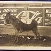 Coca Cola painted sign circa 1910