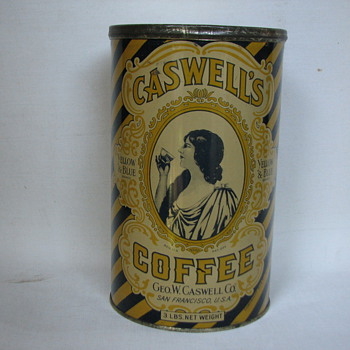 The can that started my interest - Advertising