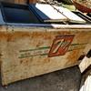 7up refrigerated cooler (double door)